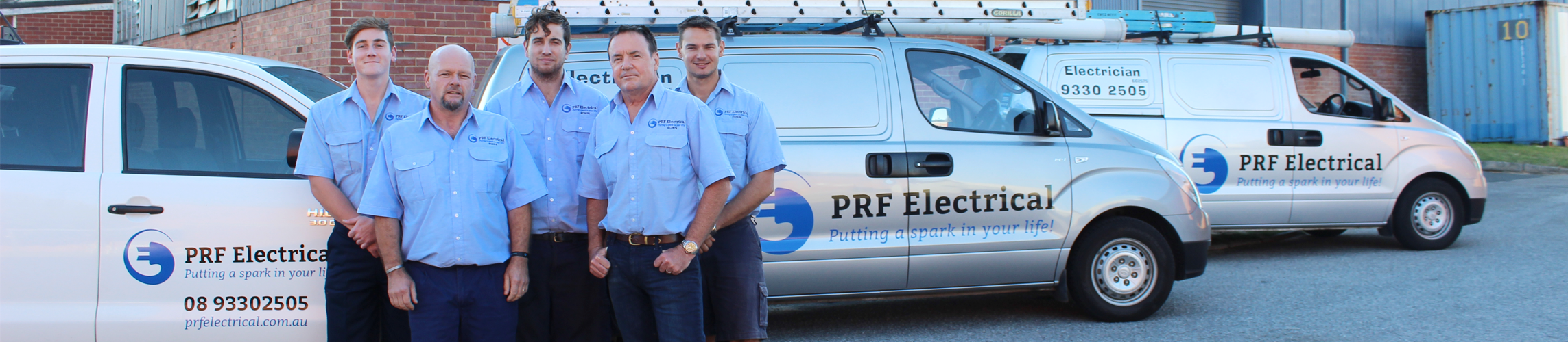 PRF Electrical - Domestic, Commercial and Industrial Electricians